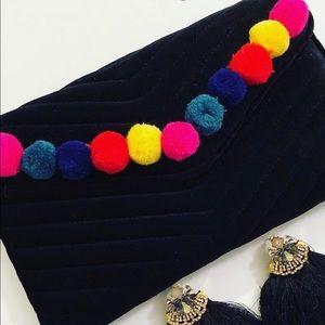 Velvet purse/clutch